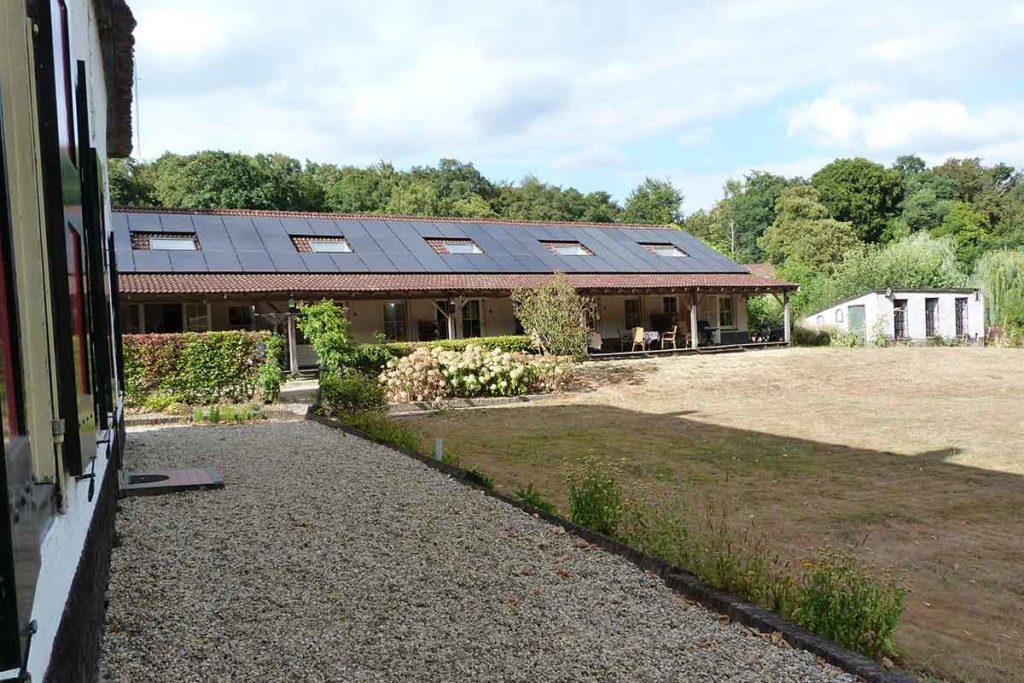 Vakantieboerderij Holdeurn 4-persoons terras